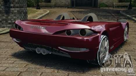 K-1 Attack Roadster v2.0 для GTA 4 вид сзади слева