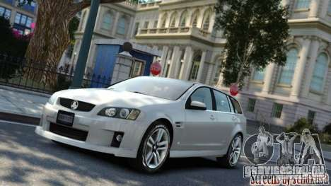 Holden VE Commodore Sportwagon SS 2009 для GTA 4 вид слева