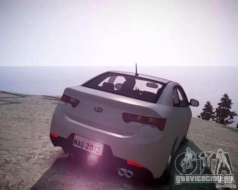 Kia Cerato Koup 2011 для GTA 4 вид сзади слева