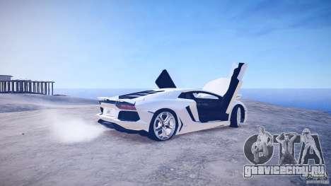Lamborghini Aventador LP700-4 v1.0 для GTA 4 вид сбоку