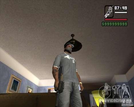P90 из GTA IV The Ballad of Gay Tony для GTA San Andreas второй скриншот