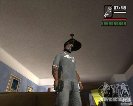 P90 из GTA IV The Ballad of Gay Tony для GTA San Andreas