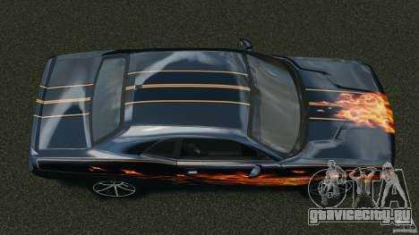 Dodge Challenger SRT8 392 2012 для GTA 4 вид справа