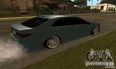 Acura TSX 2010 для GTA San Andreas вид слева