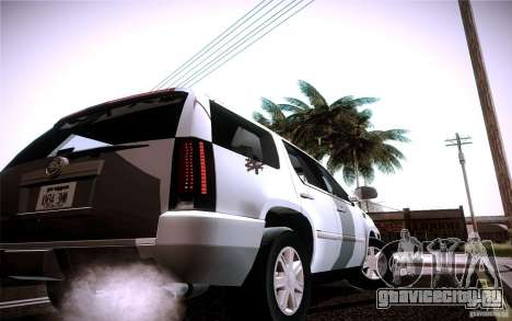 Cadillac Escalade для GTA San Andreas вид справа