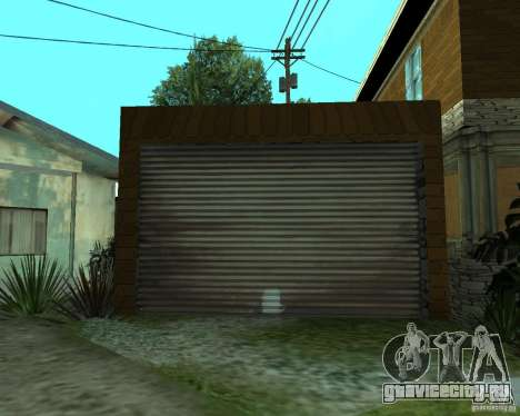 Новый дом CJя для GTA San Andreas шестой скриншот