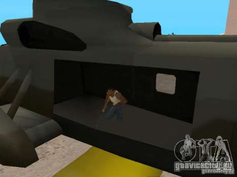Enterable Leviathan для GTA San Andreas вид сзади
