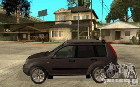 Nissan X-Trail 2001-2007 для GTA San Andreas вид слева