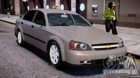Chevrolet Evanda для GTA 4 вид сверху