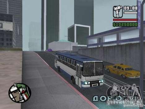Ikarus 260.27 для GTA San Andreas вид слева