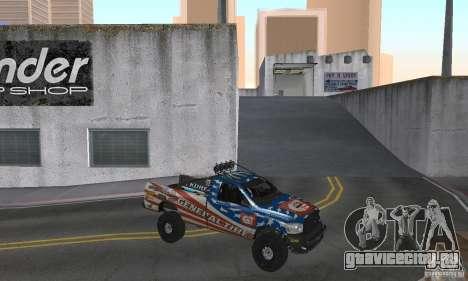 Dodge Power Wagon Paintjobs Pack 2 для GTA San Andreas вид справа