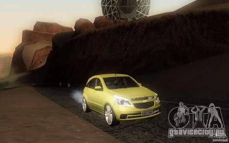 Chevrolet Agile 2012 для GTA San Andreas