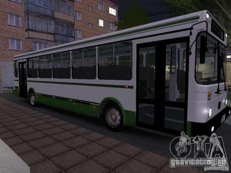 ЛиАЗ 5256 Пригородный для GTA San Andreas вид слева