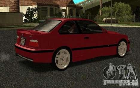 BMW E36 M3 1997 Coupe Forza для GTA San Andreas вид справа