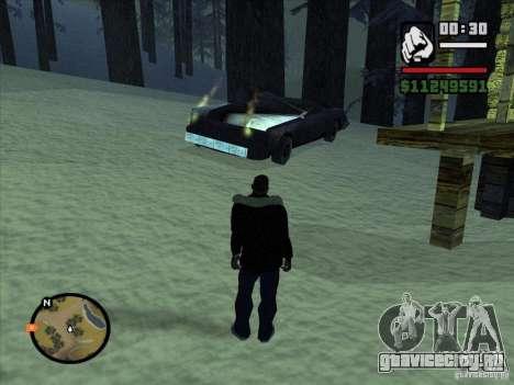 GhostCar для GTA San Andreas четвёртый скриншот