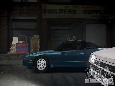 Nissan 240SX для GTA 4 вид сзади