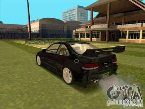 Honda Civic Coupe 1995 from FnF 1 для GTA San Andreas вид слева