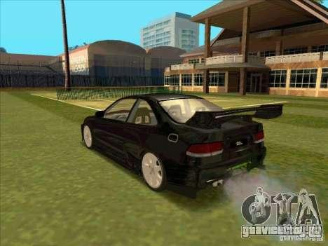 Honda Civic Coupe 1995 from FnF 1 для GTA San Andreas вид слева