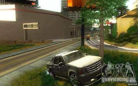 Cadillac Escalade EXT для GTA San Andreas вид справа
