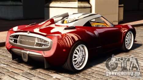 Spyker C12 Zagato 2007 для GTA 4 вид слева