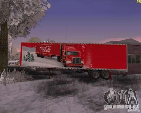 Прицеп для Coca Cola Trailer для GTA San Andreas