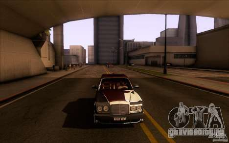 Bentley Arnage R 2005 для GTA San Andreas вид сбоку