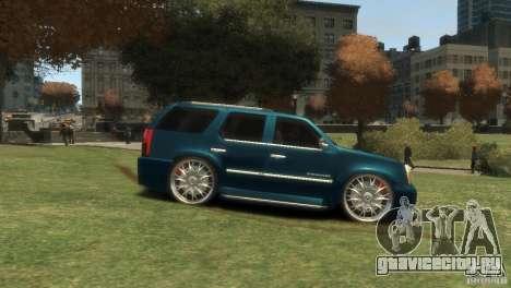Cadillac Escalade Dub для GTA 4 вид справа