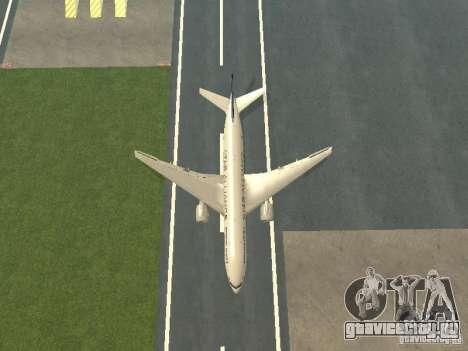 Boeing 777-200 Singapore Airlines для GTA San Andreas вид сбоку