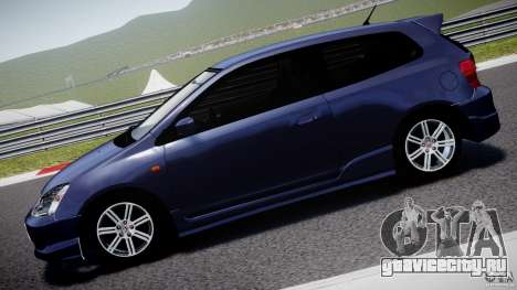 Honda Civic Type-R для GTA 4 вид слева