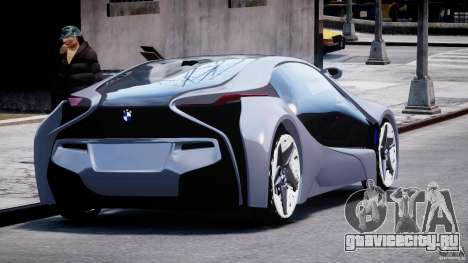 BMW Vision Efficient Dynamics v1.1 для GTA 4 вид сбоку