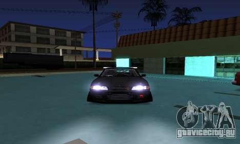 Nissan Skyline R32 GT-R для GTA San Andreas вид сзади слева