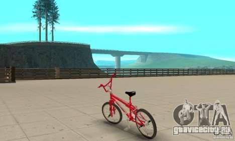 Noxon Jump Bmx для GTA San Andreas вид сзади слева