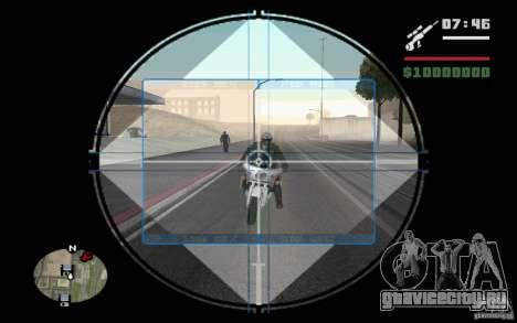 Снайпер мод v.2 для GTA San Andreas
