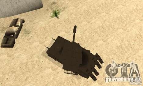 Танк Rhino Megatron для GTA San Andreas вид справа