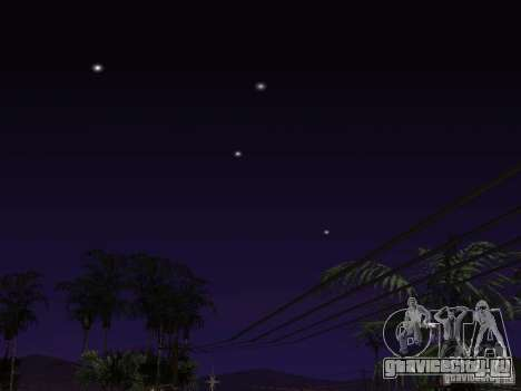 Timecyc - Purple Night v2.1 для GTA San Andreas десятый скриншот