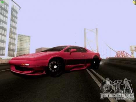 Lotus Esprit V8 для GTA San Andreas вид слева