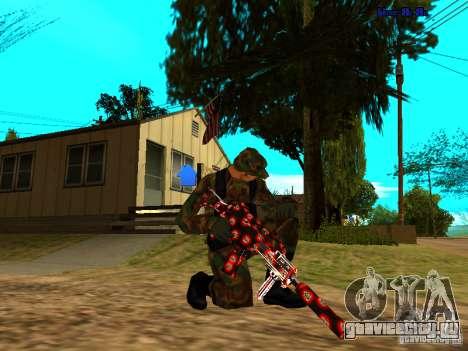 Trollface weapons pack для GTA San Andreas второй скриншот