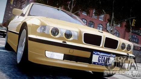 BMW 750i v1.5 для GTA 4 двигатель