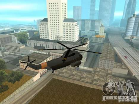 Enterable Leviathan для GTA San Andreas вид справа