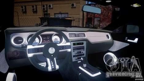 Ford Mustang V6 2010 Premium v1.0 для GTA 4 вид справа