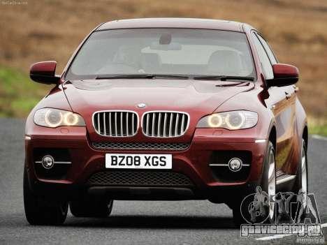 Загрузочные Экраны BMW X6 для GTA San Andreas шестой скриншот
