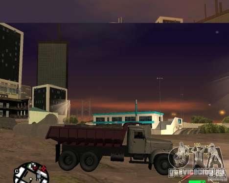 КрАЗ-256 Самосвал для GTA San Andreas вид слева