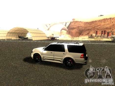Ford Expedition 2008 для GTA San Andreas вид сзади слева