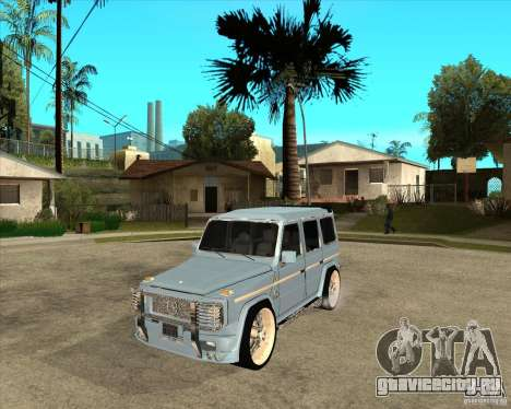 Mercedes Benz G 500 Brabus - Dub Edition для GTA San Andreas