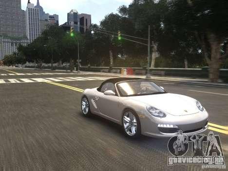 Porsche Boxster S 2010 EPM для GTA 4 вид сзади