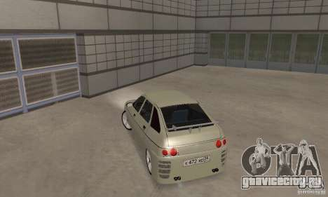 ВАЗ 2112 Tuning F для GTA San Andreas вид сзади слева