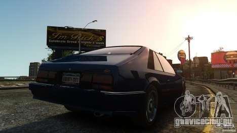 Uranus Hatchback для GTA 4 вид сзади слева