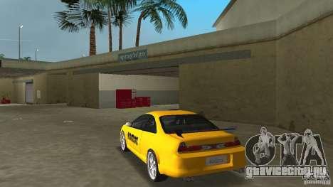 Honda Accord Coupe Tuning для GTA Vice City вид сзади слева