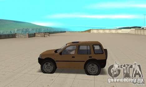 Land Rover Freelander KV6 для GTA San Andreas вид слева