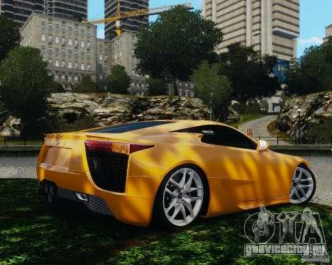 Lexus LF-A для GTA 4